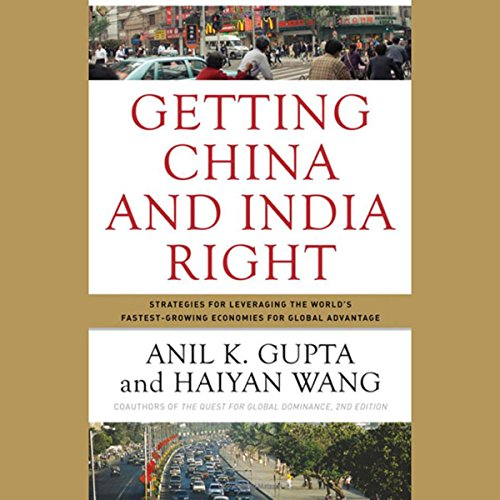 Getting China and India Right  Audiolibri