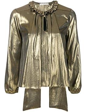 Golden Goose Blusa Donna G31WP144A1 Poliestere Oro