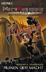 Mechwarrior Dark Age 3: Ruinen der Macht