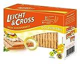 Produkt-Bild: LEICHT&CROSS Knusperbrot Goldweizen, 8er Pack (8 x 125 g)