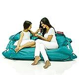 FATBOY Outdoor türkis! Kult Sitzsack für draußen, Original mit verstellbarem Gurt!