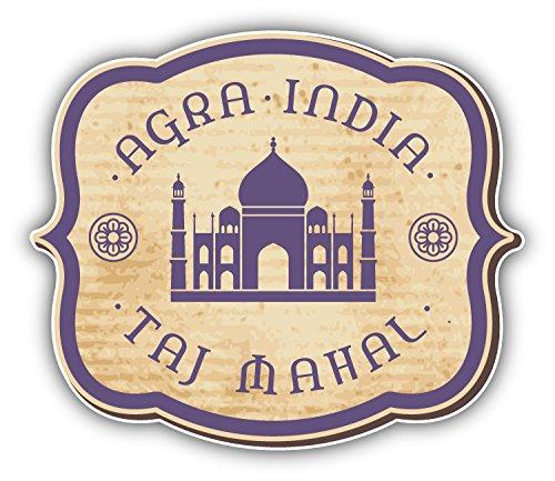 taj-mahal-india-vintage-label-alta-calidad-de-coche-de-parachoques-etiqueta-engomada-12-x-10-cm