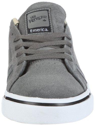 Emerica LEO, Sneaker unisex adulto Grigio