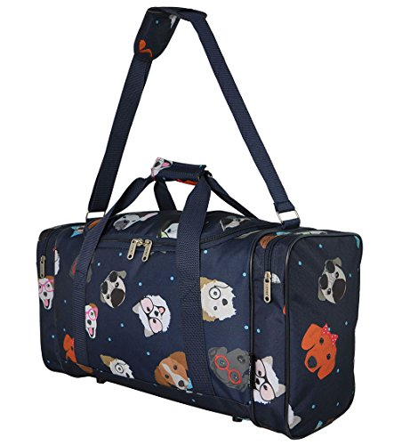 5 Cities Extra Large Super Lightweight Ryanair Cabin Holdall Carry On Travel Holiday Bag, ideal for Weekend/ Overnight/Gym & Sports luggage with Optional Shoulder Strap. – 3 years warranty