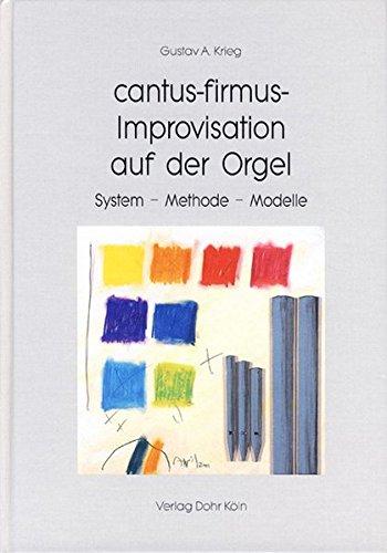 Krieg, G: cantus-firmus-Improvisation auf der Orgel