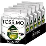 Tassimo Jacobs Krönung XL, Lot de 5, 5 x 16 T-Discs