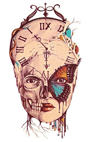 temporre-krperkunst-entfernbare-tattoo-aufkleber-schdel-sticker-tattoo-temporary-tattoo-fashionlife