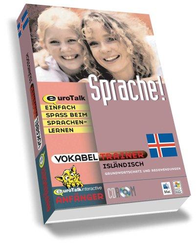Preisvergleich Produktbild Vokabeltrainer Isländisch,  1 CD-ROM