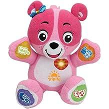 VTech - Mi osita Nina, peluche interactivo con conexión a Internet, color rosa (3480-147257)