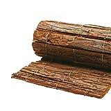 AFP Rindenholzmatte Winterschutz Pflanzen, 50 x 100 cm/Stammschutz Bäume/Frostschutz Kübelpflanzen/Deko / Bastelmatte/Winterschutz Pflanzen / 2 Jutesäckchen gratis
