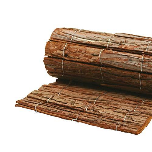 AFP Rindenholzmatte Winterschutz Pflanzen, 30 x 100 cm/Stammschutz Bäume/Frostschutz Kübelpflanzen/Deko/Bastelmatte/Winterschutz Pflanzen / 2 Jutesäckchen gratis