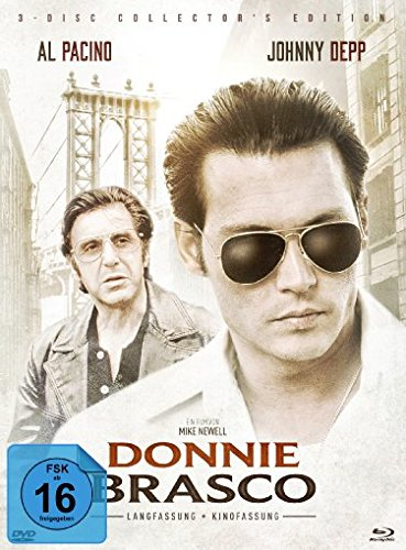 Donnie Brasco - Mediabook/Extended Edition + Kinofassung (+ DVD - Kinofassung) [Blu-ray] [Limited Collector's Edition]