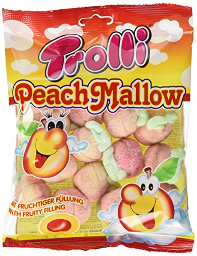 Trolli Peach Mallow gefüllt, 8er Pack (8 x 150 g)