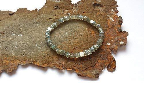 Labradorit Armband mit 925er Silberelementen