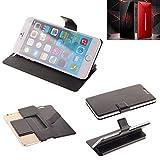 K-S-Trade® Schutz Hülle Für Nubia Red Magic Mars Schutzhülle Flip Cover Handy Wallet Case Slim Handyhülle Bookstyle Schwarz