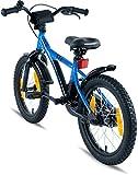 PROMETHEUS Kinderfahrrad 16 Zoll Blau & Schwarz BMX Edition 2017 - 8