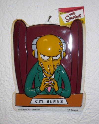 Wanddeko-Wand Deko- The Simpsons - Mr. Burns
