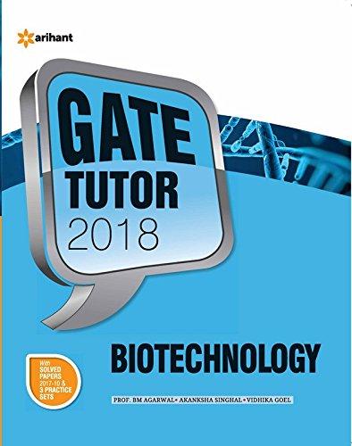 Biotechnology GATE  2018