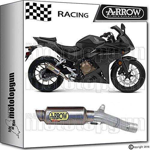 ARROW KIT AUSPUFF DB-KILLER GP-2 TITAN RACE HONDA CBR 500-R 2016 16 71029GP + 11009DB