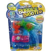 Grafix Childrens Light Up LED Bubble Shooter Pistola de juguete