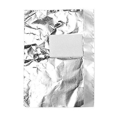 100pcs alluminio lamina per unghie nail art soak off Gel Polish Remover acrilico-Hearsbeauty