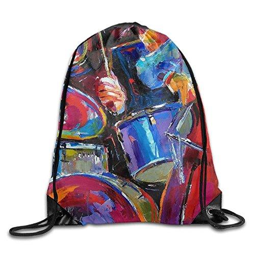 DearLord Gym Kordelzug Tasche Rucksack Trommel Kit Tourismus Weihnachten Beam Reisen Bundle Pocket Leinwand Aufbewahrungstasche