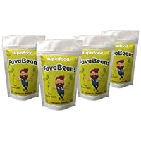 The Superfood Company, Fava Beans, 40g (Pack of 4)