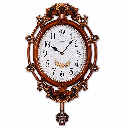 DIDADI Wall Clock Orologi da parete di stile europeo casa quando ...