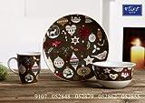 Flirt By R&B Weihnachtsgeschirr Winterdeco Größe Gebäckteller 23 cm Winterdeco
