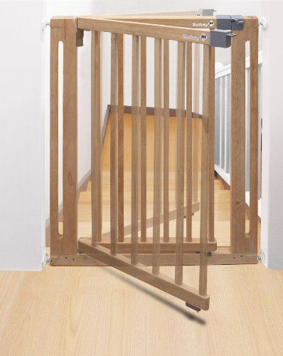 Safety 1st Easy Close Wood Treppenschutzgitter - 2
