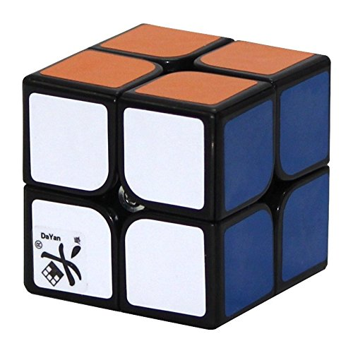 DaYan ZhanChi 2x2 50mm Black Speed cube 2x2x2 Puzzle  available at amazon for Rs.699