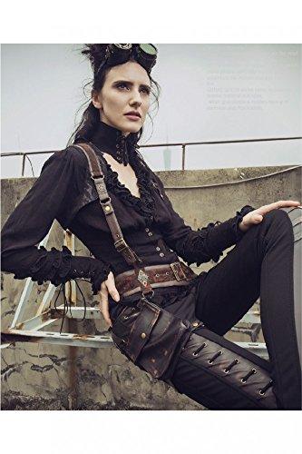 Steampunk Bolero mit Gürtel und Tasche
