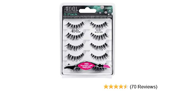 3213c3296cd Ardell professional 5 Pack Demi Wispies With Free Precision lash Applicator