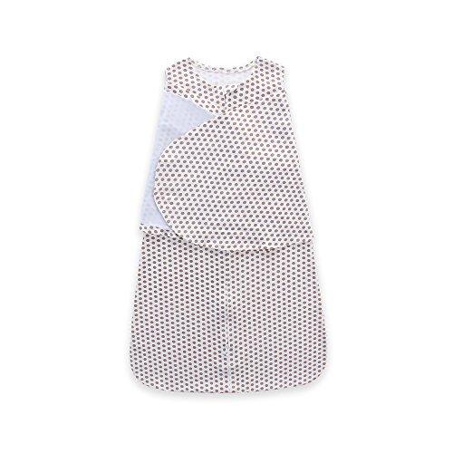 Azuo sleepsack cotton swaddle, baby blue, small,j