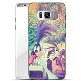finoo | Samsung Galaxy S8 Hard Case Handy-Hülle mit Looney Tunes Motiv | dünne stoßfeste Schutz-Cover Tasche mit lize