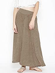 Sera Women Mustard Yellow Skirt Palazzo