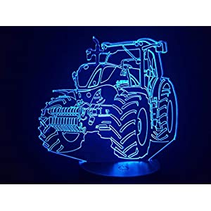 Traktor NEW HOLLAND, 3D-Lampe LED