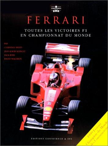 Ferrari : toutes les victoires F1 en championnat du monde