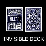 SOLOMAGIA Mazzo Invisibile Tally Ho - Fan Back - dorso Blu