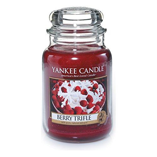 Yankee Candle 1342525E Bougie senteur Berry Trèfle en jarre Vert