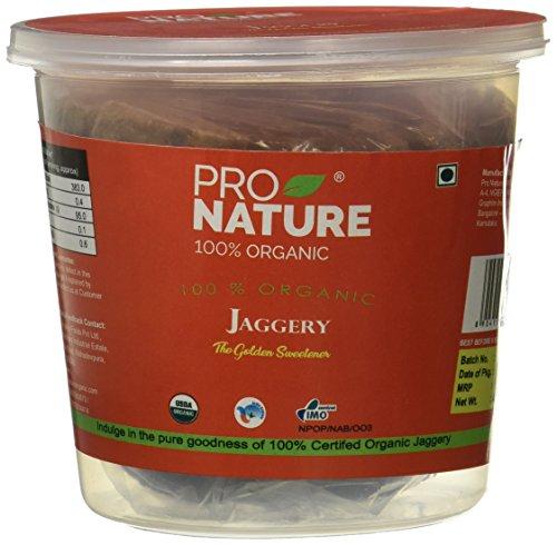Pro Nature 100% Organic Jaggery Tub, 400g