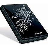 Toshiba Canvio 3.0 - Hard Drive - 750 GB - External- USB 3.0 - 5400 Rpm - Buffer: 8 MB - Black With White Accents - For Qosmio X500, X775; Satellite C655, L745, L750, L755, L770, L775, P745, P755; Tecra R850