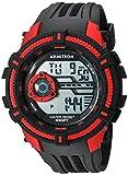 Armitron Sport Herren Digital Quarz Uhr mit Harz Armband 40/8384RED