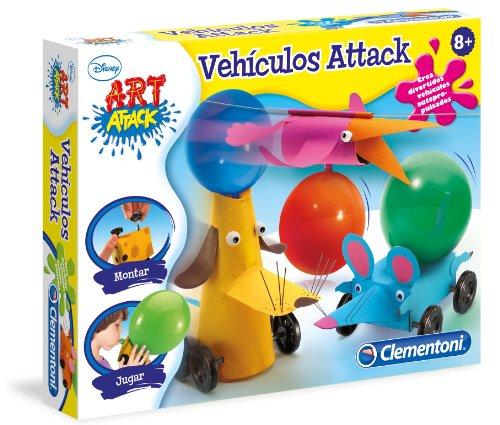 Clementoni Disney - Art Attack Vehiculos a Propulsion