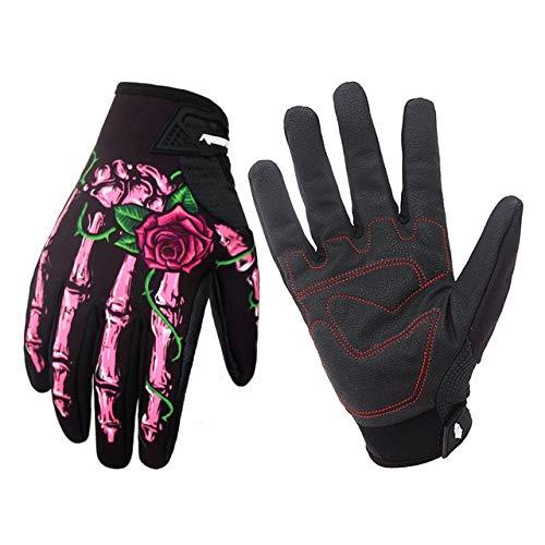 Bruce Dillon Guanti da moto guanti invernali impermeabili per motociclismo guanti isolati touch screen foderati in pile - A3 XL
