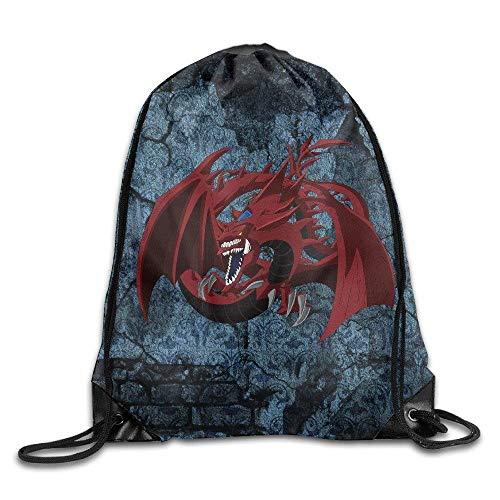 Creative Design Yu Gi Oh! Drawstring Backpack Sport Bag for Men and Women