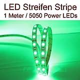 DELLOPTOELECTRONICS LED Stripe Streifen GRÜN 60x 5050 LEDs ca. 1 Meter 12V PCBw
