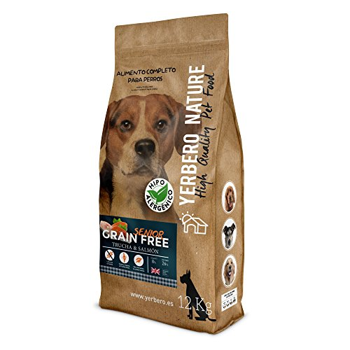 YERBERO Nature Grain Free Senior Comida Perros Sin