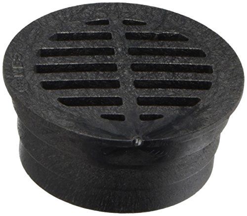 nds-3-inch-black-round-structural-foam-polyolefin-grate-with-uv-inhibitors