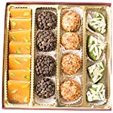 Mango Pista Chocolicious - 400gm | Premiun Diwali Gift Box | Diwali Card | Diwali Sweet Gift Box | Diwali Gifts...